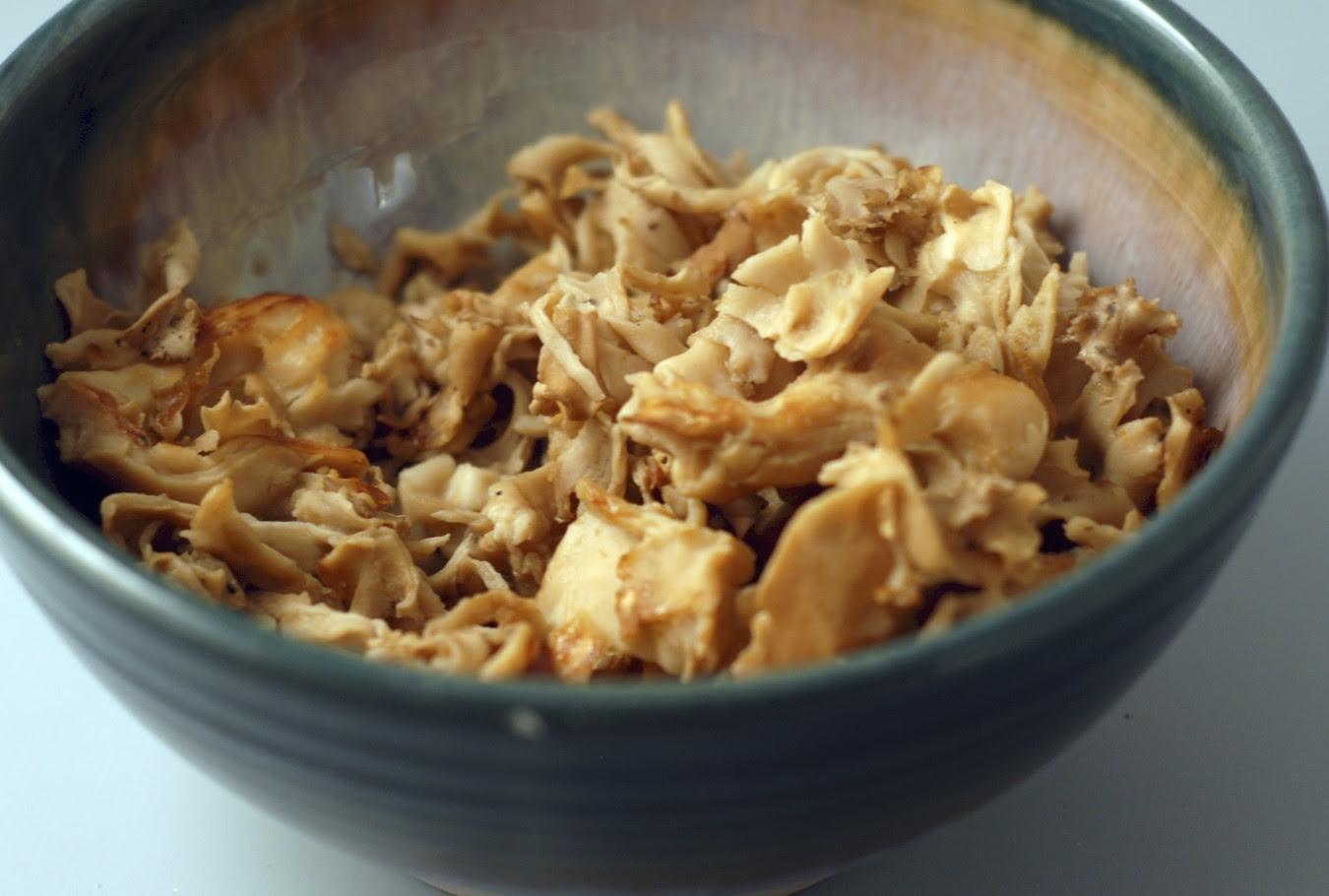 Cauliflower Mushroom Sparassis Crispa Noodles