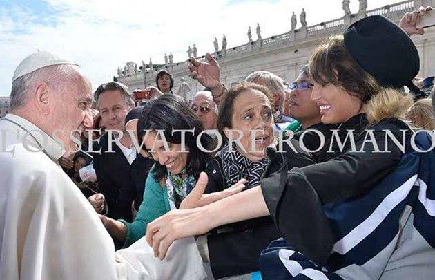 Y un día, Vicky Xipolitakis se encontró con el Papa