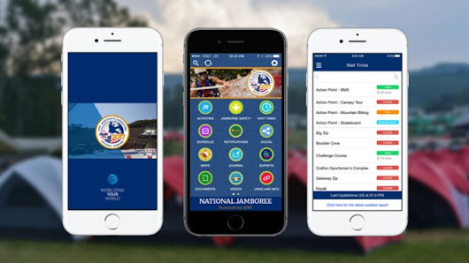 Download the official app of the 2017 National Jamboree - The Summit Bechtel Reserve