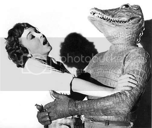 Promotional shot from 'The Alligator People'