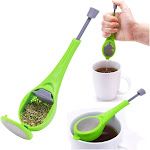 2-Pack Healthy Total Tea Steeper and Infuser, Filter and Strain for Infusion - Green