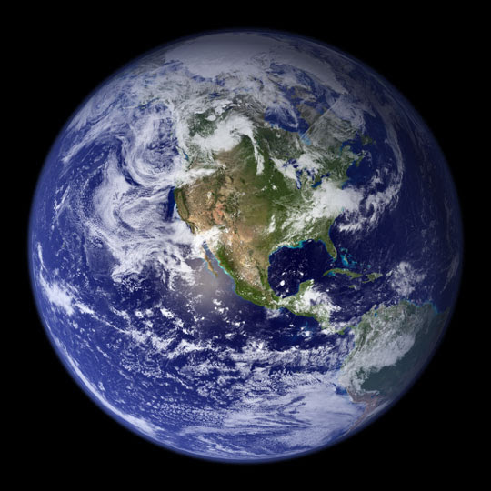 YOUR BLUE MARBLE