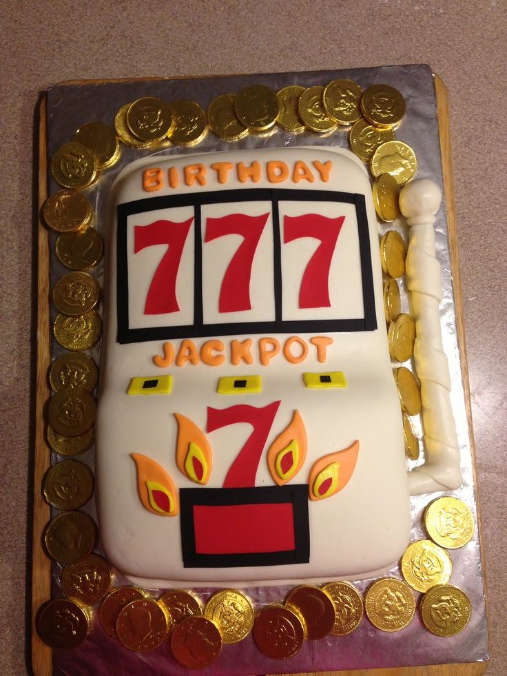 /09/04 · Slot Machine Birthday Cake By cakewhiz This slot machine cake took a lot of pre planning because I had to make all the decorations out of sugarpaste (before I baked and iced the cake) and size them to an 8