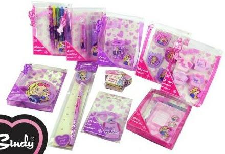 Sindy Lilac Stationery Bundle
