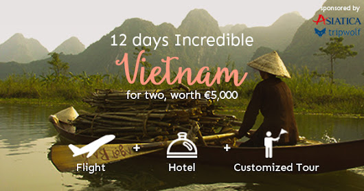Win A Vietnam Trip For 2 Persons (EN)