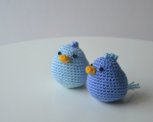 Amigurumi birdies. Handmade crochet soft chicken toy. by ittooktwo