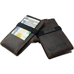 Minimalist Card Holder with RFID Protection - POKET-R R1-Vertical