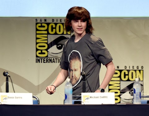 Chandler Riggs Comic Con 2015