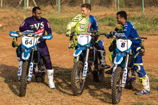 TVS Racing is ready to be India Baja 2017