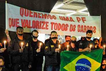 Sindicalistas alertam: manifestações suspensas poderão ser retomadas. Foto: Marcos Vieira/EM/D.A Press