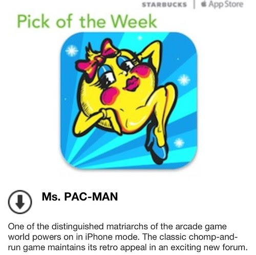 Starbucks iTunes Pick of the Week - Ms. PAC-MAN