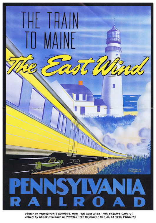 East Wind Train – MEC/B&M/NH/PRR [HO]
