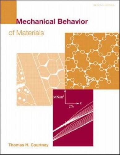 thomas h courtney mechanical behavior of materials pdf free download