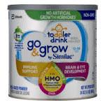Go & Grow by Similac Toddler Drink Non-GMO Powder - 24oz