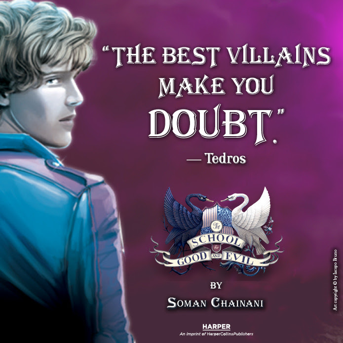 CASTING CHALLENGE! Who should play Tedros in THE SCHOOL FOR GOOD AND EVIL movie?