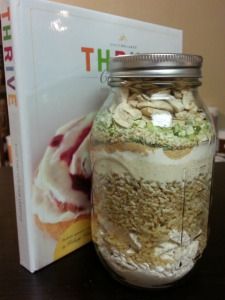 chicken and rice jar