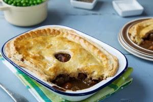 Beef & Guinness Pie | Food Ireland Irish Recipes
