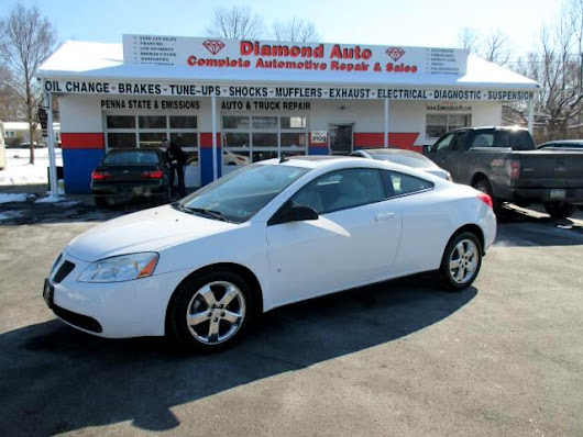 Used 2009 Pontiac G6 for Sale in bristol PA 19007 Diamond Auto