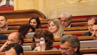 Gordó, al seu nou escó al Parlament