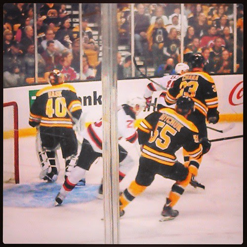 @bruinshockey vs NJ #33 #55 #40 #letsgobs #bruins