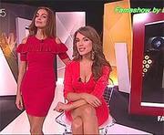 As belas apresentadoras do FamaShow em momentos recentes