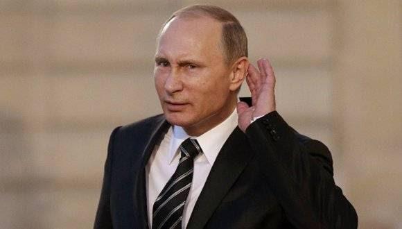 Presidente de Rusia, Vladimir Putin. Foto: Reuters.