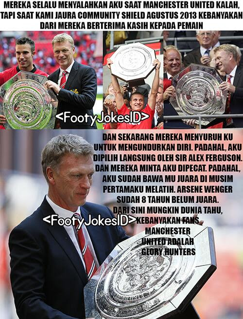 Curhatan Moyes! -  Football Jokes Indonesia: Curhatan Moyes!