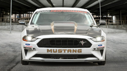 Ford's 50th Anniversary Mustang Cobra Jet Is the Hottest, Fastest, Most Powerful Drag Racing Mustang Ever | Ford Media Center
