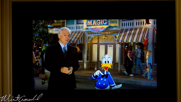 Disneyland Resort, Disneyland, Main Street U.S.A., Opera, House, Steve, Martin, Donald, Duck, 50th, Anniversary