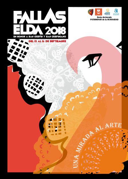 El cartel de Fallas de Elda se centra en la importancia artística de la celebración