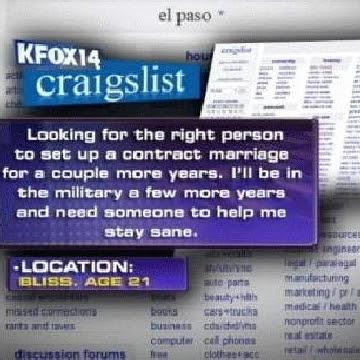 Craigslist El Paso General