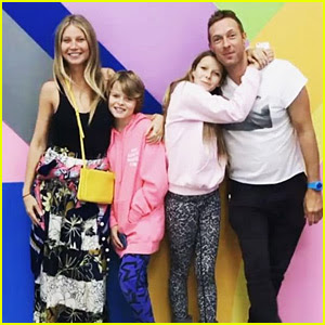 Gwyneth Paltrow & Chris Martin Spend Mother's Day with the Kids