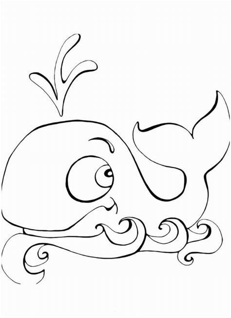 whale coloring pages  preschool preschool