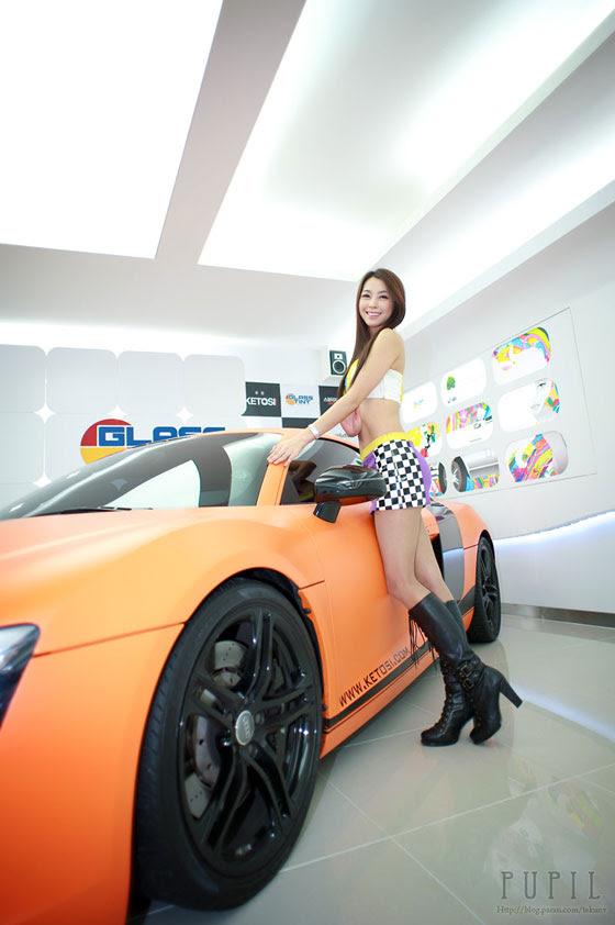 Ju Da Ha at Glass Tint Event