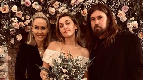 miley cyrus  liam hemsworths wedding family shares