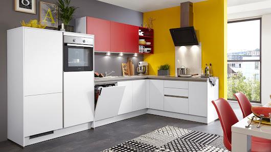 Einbauküche mit gorenje elektrogeräten