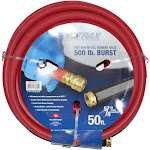 Notrax 724-311 50' Hot Water Rubber Hose