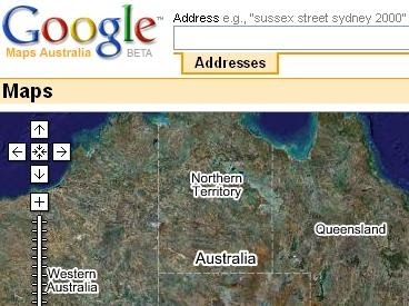 maps mania google maps australia is now live