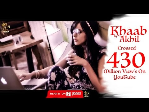 Khaab English Translation lyrics - Akhil | Romantic Punjabi Song