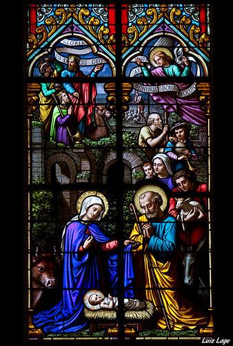 Nascimento de Jesus by Luiz Lage