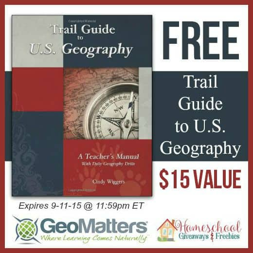 FREE Trail Guide to U.S. Geography – $15 Value