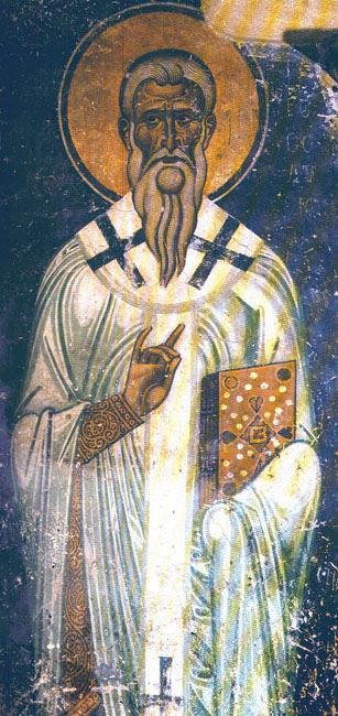 IMG ST. MACARIUS Bishop of Jerusalem