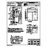 Automatic Sliding Door: Stanley Automatic Sliding Door Manuals