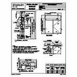 Automatic Sliding Door: Stanley Automatic Sliding Door Manuals