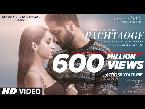 Pachtaoge Lyrics – Arijit Singh | Latest Song