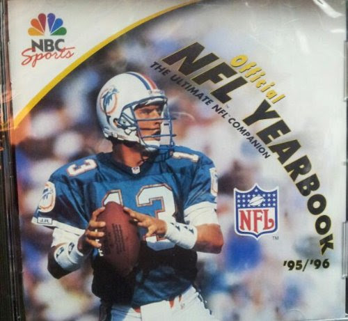 95/96 Official NFL Yearbook: The Ultimate NFL Companion CDRom  warez8.xyz