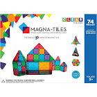 Magna Tiles Clear Colors 74-Piece Set