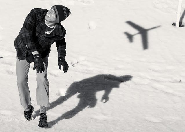 Brad and Plane Shadow