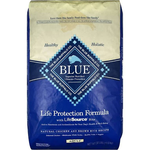 Blue Buffalo Life Protection Dog Food Natural En Brown Rice 30 Lb Bag