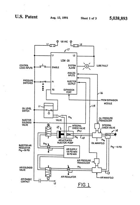 Patent US5038893 - Lubrication monitoring system - Google